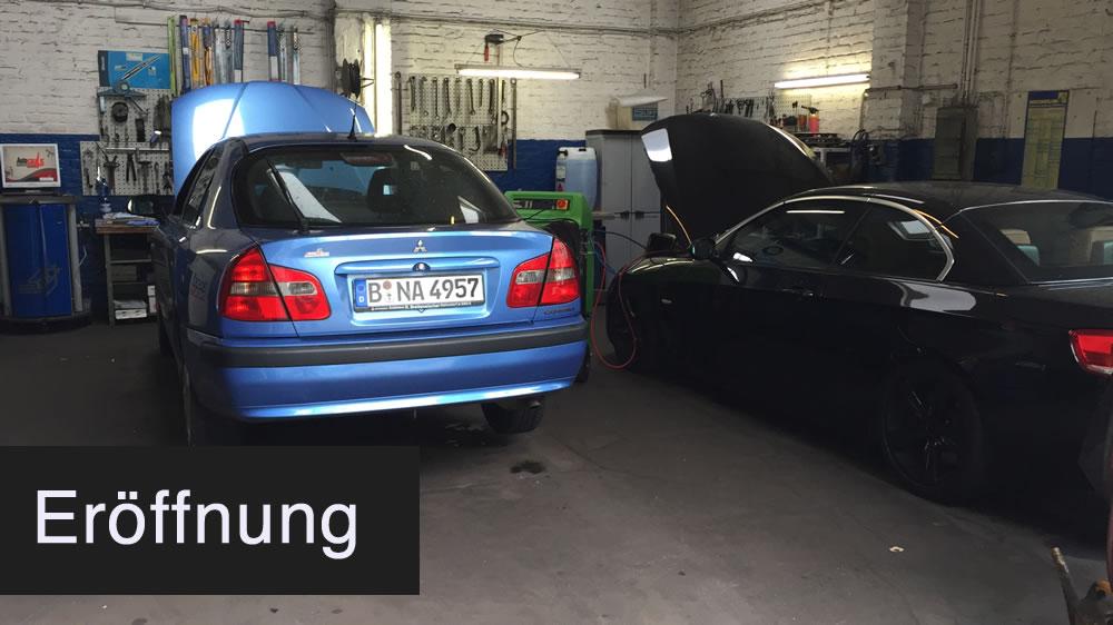 """Eröffnung der KFZ-Werkstatt """"Auto-Puls"""" in Berlin Neukölln / Kreuzberg"""